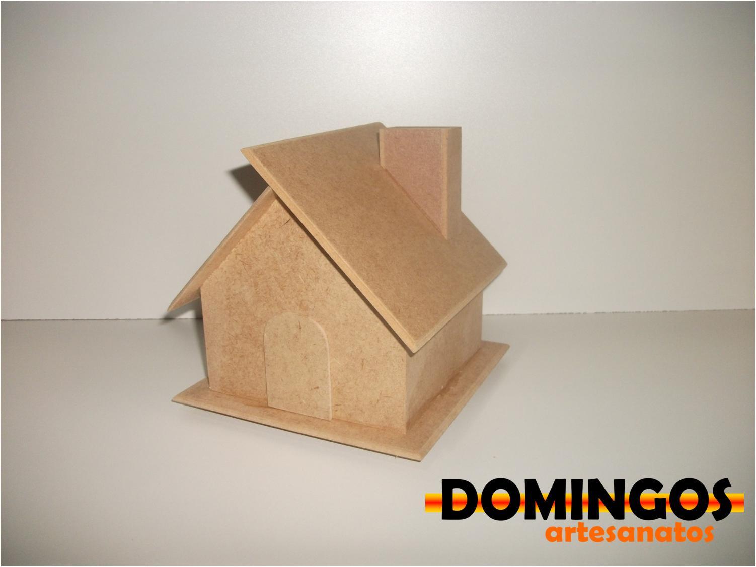 Cofre de casinha pequeno