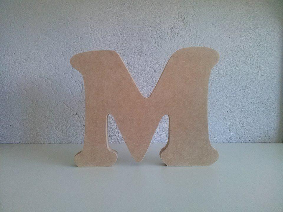 Letra MDF 15mm