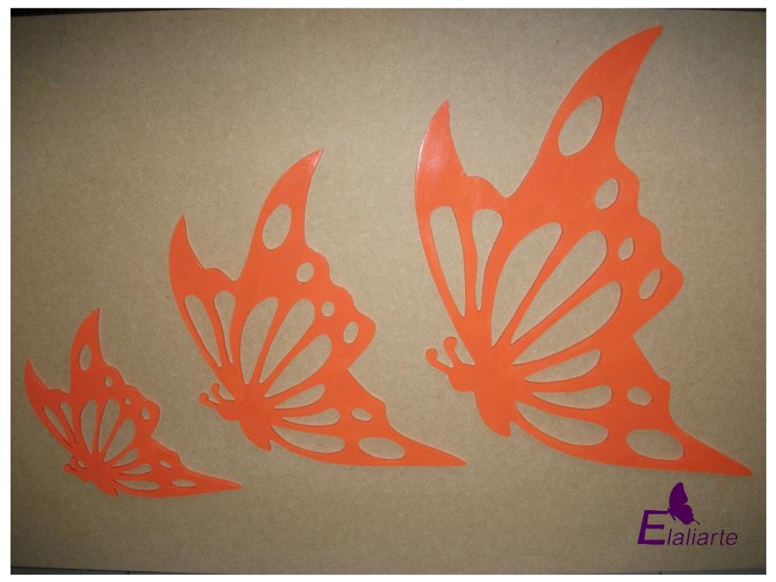 Trio de borboleta